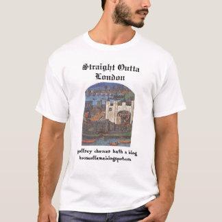 Camiseta Blogue de Chaucer: Ovtta reto Londres