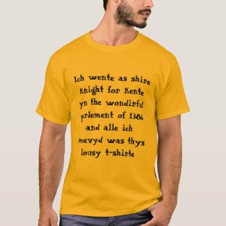 Camiseta Blogue de Chaucer: T-shirt do parlamento