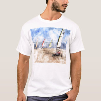 Camiseta Blokart que compete a competição