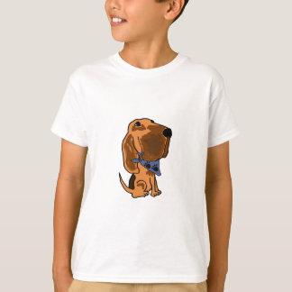 Camiseta Bloodhound dos vagabundos com um t-shirt do