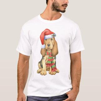 Camiseta Bloodhound feliz de Howlidays