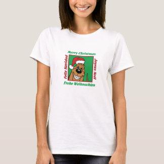 Camiseta Bloodhound Weihnacht