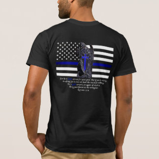 Camiseta Blue Line fino Michael o arcanjo