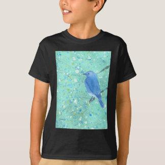 Camiseta Bluebird claro e delicado