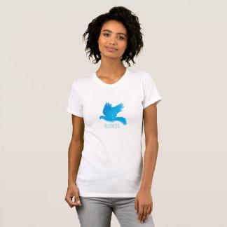 Camiseta Bluebird da felicidade