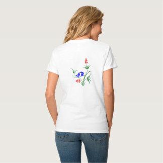 Camiseta Bluebirds que preening