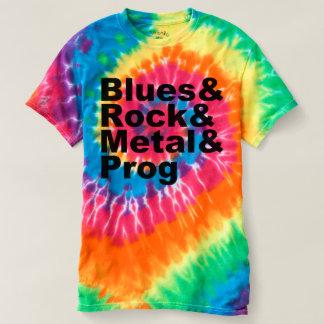 Camiseta Blues&Rock&Metal&Prog (preto)