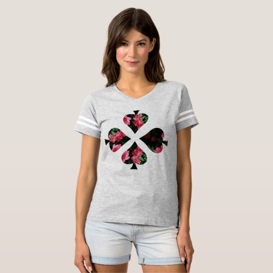 Camiseta Blusa com estampa floral