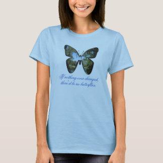 Camiseta Blusa da borboleta