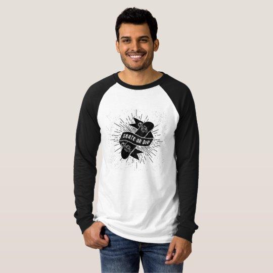 Camiseta Blusa Reglã Skate or Die (Produto Novo)