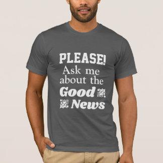 Camiseta Boa notícia - Redeemed pelo amor