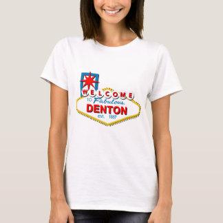Camiseta Boa vinda a Denton, Texas!