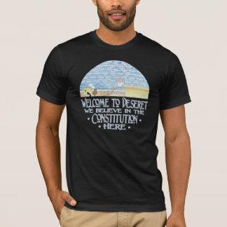 Camiseta Boa vinda a Deseret