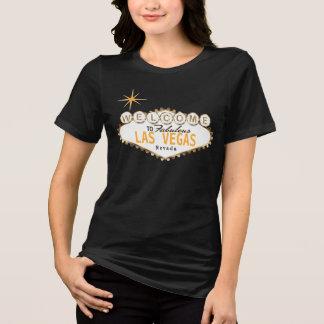 Camiseta Boa vinda a Las Vegas fabuloso - amarelo