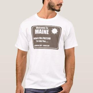 Camiseta Boa vinda a Maine