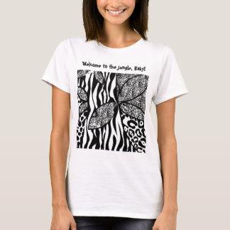 Camiseta Boa vinda à selva