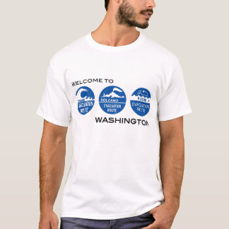 Camiseta Boa vinda a WA