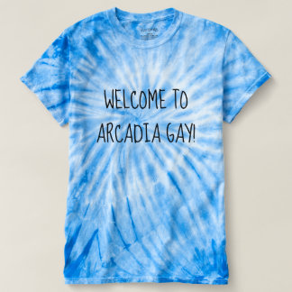 Camiseta Boa vinda ao gay do Arcadia!
