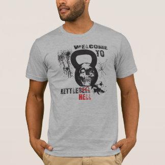 Camiseta Boa vinda ao inferno de Kettlebell