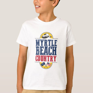 Camiseta Boa vinda ao país de Myrtle Beach
