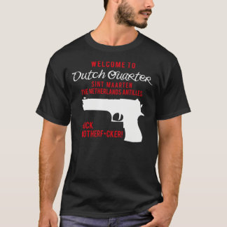 Camiseta Boa vinda ao quarto holandês