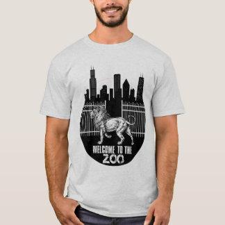Camiseta boa vinda do IE ao jardim zoológico