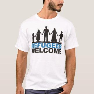 Camiseta Boa vinda dos refugiados