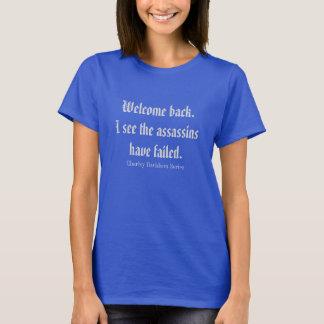 Camiseta Boa vinda para trás