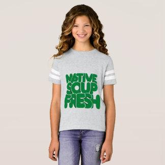 Camiseta Boas impressões, divertimento e t-shirt ocasional