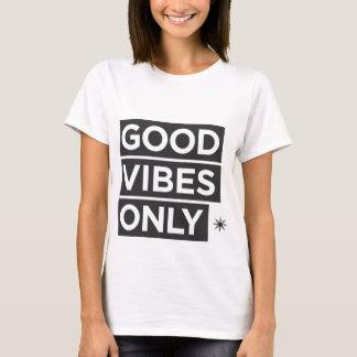 Camiseta Boas impressões somente