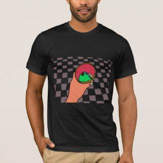 Camiseta Boas impressões: Sorvete do chá verde