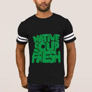 Camiseta Boas impressões, t-shirt ocasional