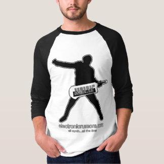 Camiseta Boatos eletrônicos: Machado-Man de Keytar, todo o