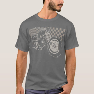 Camiseta Bobber do CM (cinza torrada)