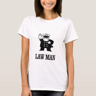 Camiseta bobina do lawman