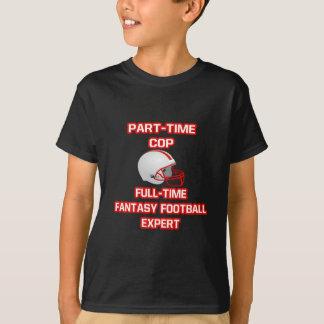 Camiseta Bobina. Perito do futebol da fantasia