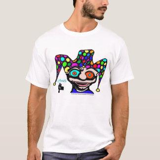 Camiseta Bobo da corte psicadélico da C-Cidade de 901