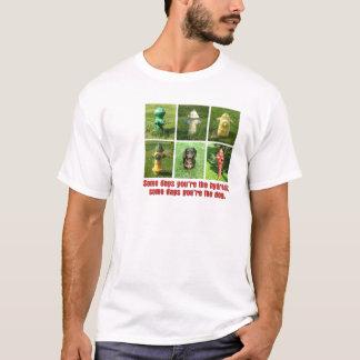 Camiseta Boca de incêndio de certos dias; Cão de certos