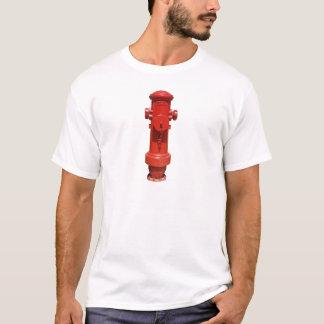 Camiseta Boca de incêndio de fogo vermelho