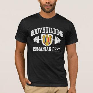 Camiseta Bodybuilding romeno