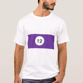 Camiseta Bola de bilhar 12