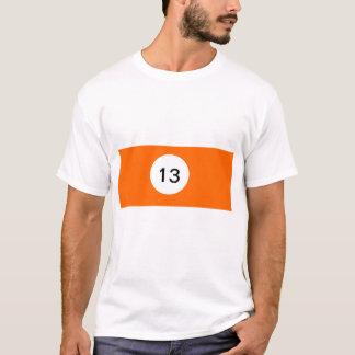 Camiseta Bola de bilhar 13