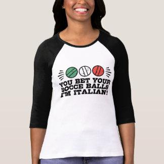Camiseta Bola de Bocce engraçada