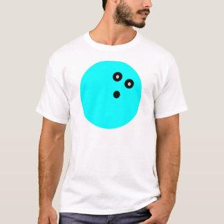 Camiseta Bola de boliche azul