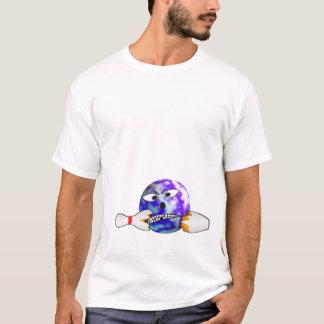 Camiseta Bola de boliche irritada