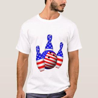 Camiseta Bola de boliche patriótica