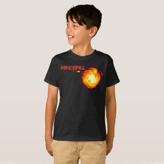 Camiseta Bola de fogo
