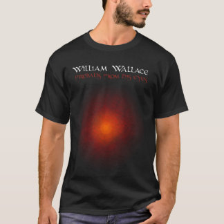 Camiseta Bola de fogo e relâmpago de William Wallace