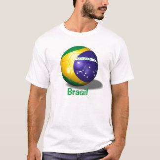Camiseta bola de futebol Brasil, Brasil