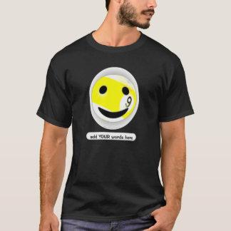 Camiseta bola do smiley nove